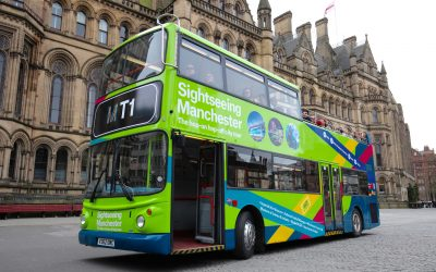 Driving tourism forward: first look at Greater Manchester's new sightseeing bus