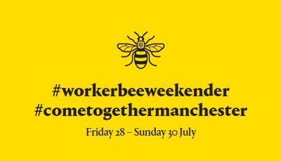 Online influencers head to Manchester for the Worker Bee Weekender