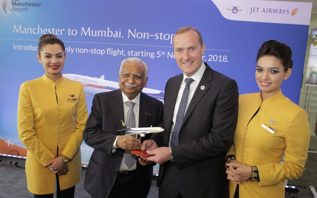 Manchester Airport Launches Direct Flights To Mumbai Giving A Major Boost To the North