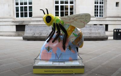 Marketing Manchester bee design reflects Manchester's growing global influence