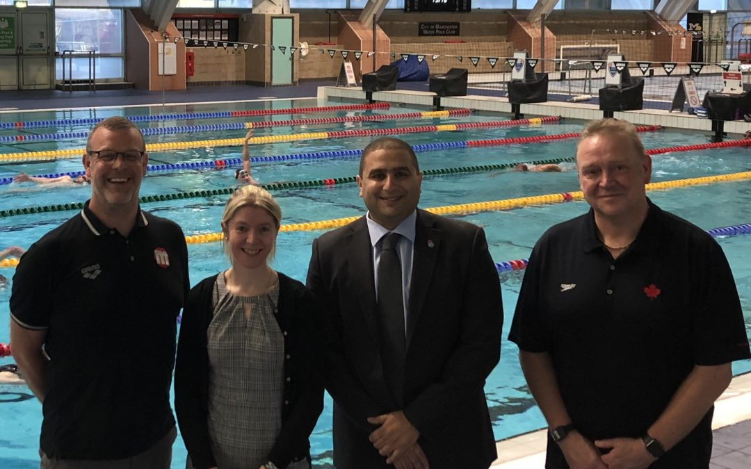 Manchester to host Swimming Canada's 2022 Commonwealth Games staging camp