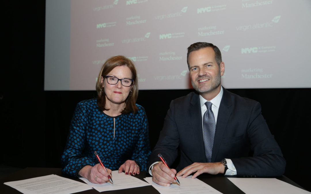 Manchester and New York City sign first-ever city-to-city tourism partnership