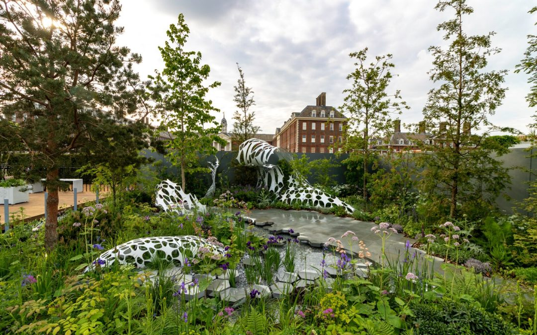 Silver for The Manchester Garden at RHS Chelsea Flower Show 2019